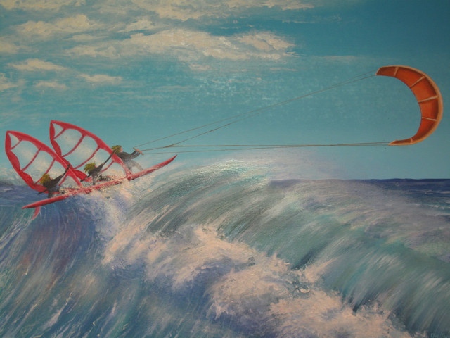 Wo Windsurfer und Kiter Freunde sind