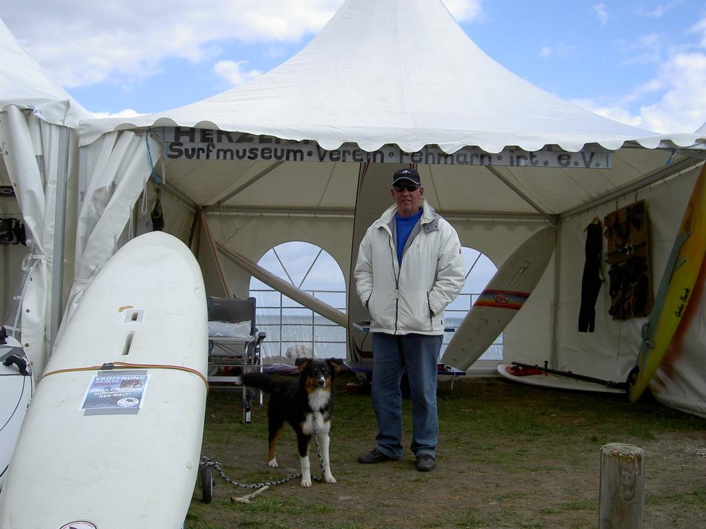 Rainer kurz vor dem großen Ansturm  2007