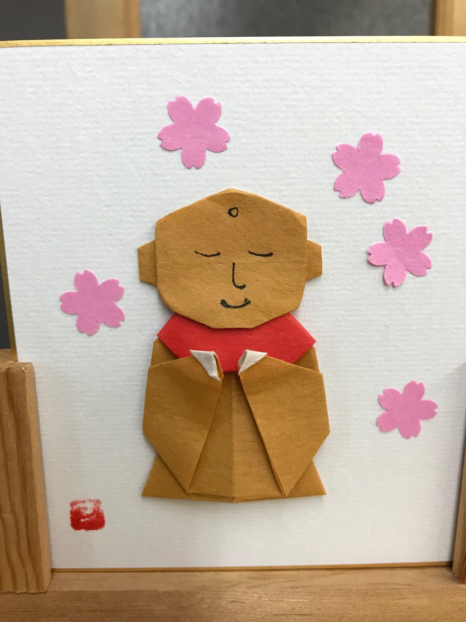 H30年3月 桜とお地蔵様