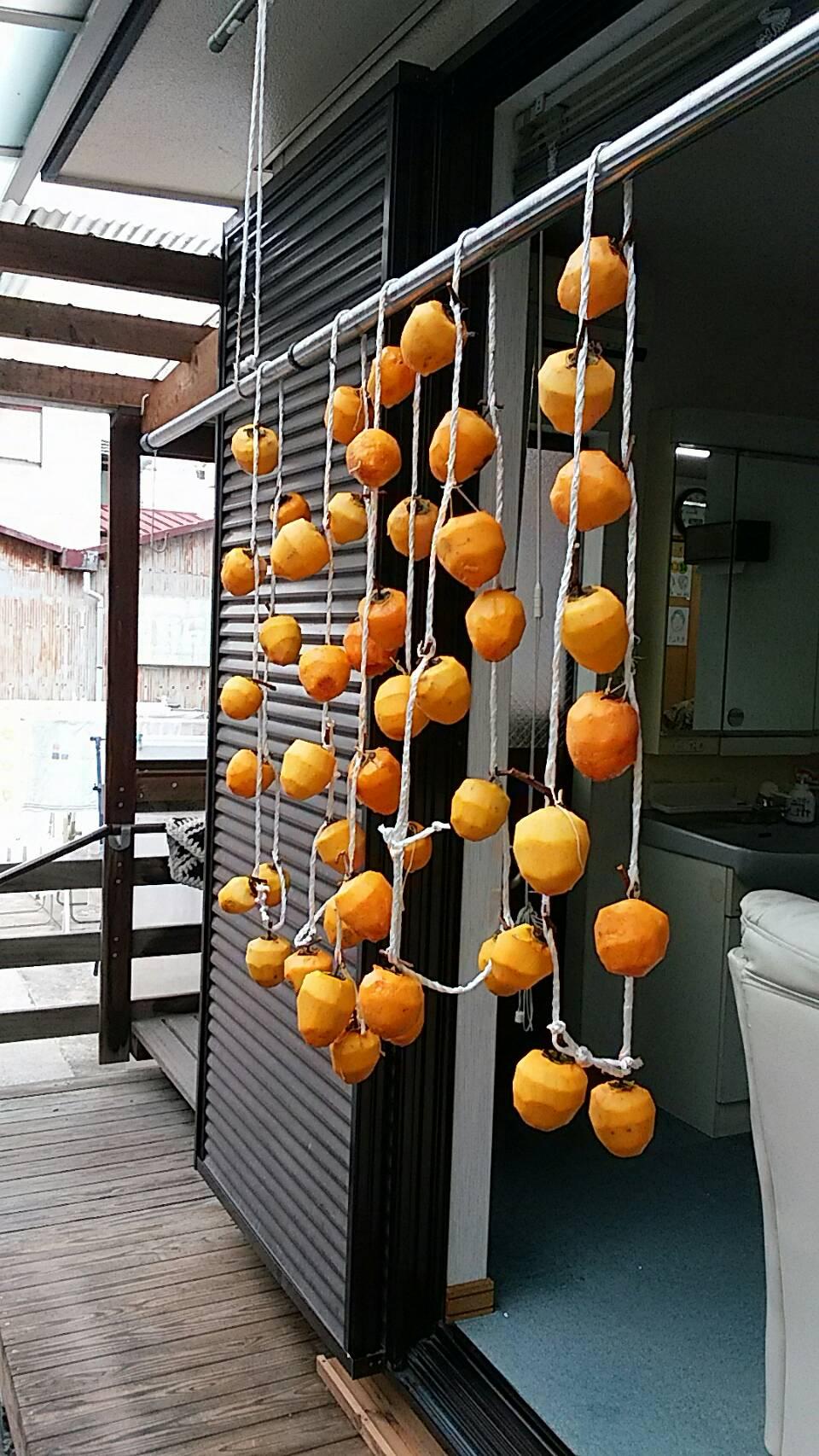 平成30年10月 干し柿作り