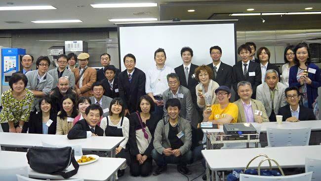 東京:福島工業さまでの受講者の皆さんと