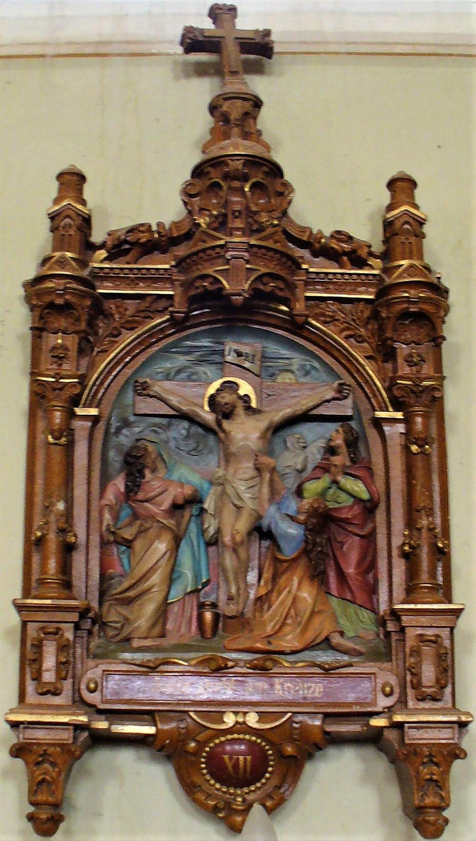 Jesus stirbt am Kreuze /Bildaufnahmen 2007 Josef Messer