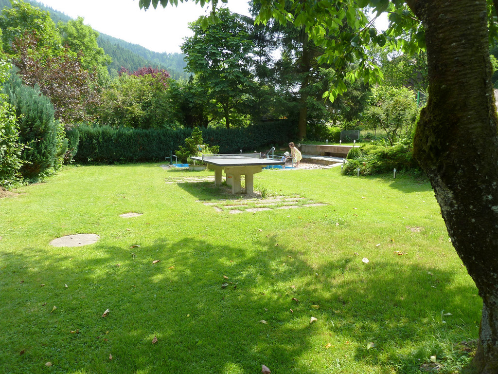 Unser Garten über der Elz