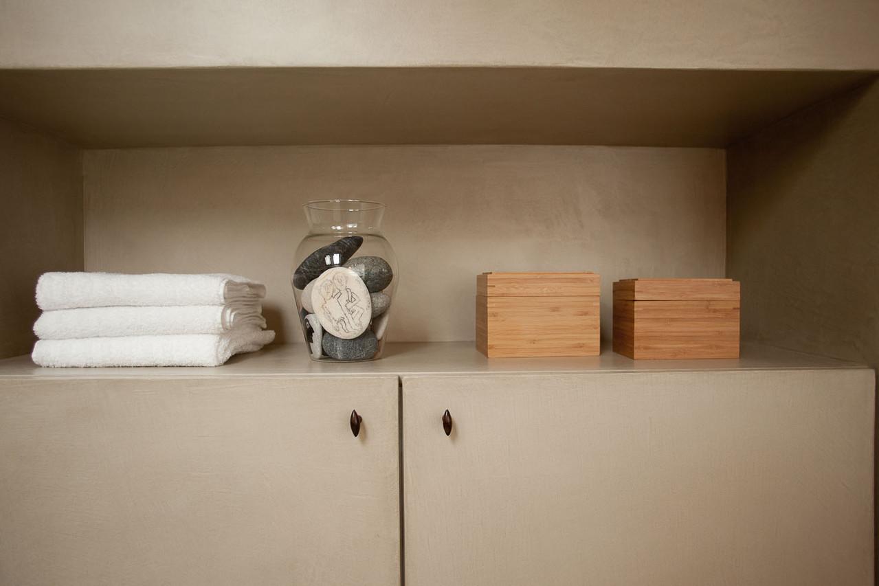 LA VILLA Brussels,  B&B , salle de douche de la chambre Pigeonnier