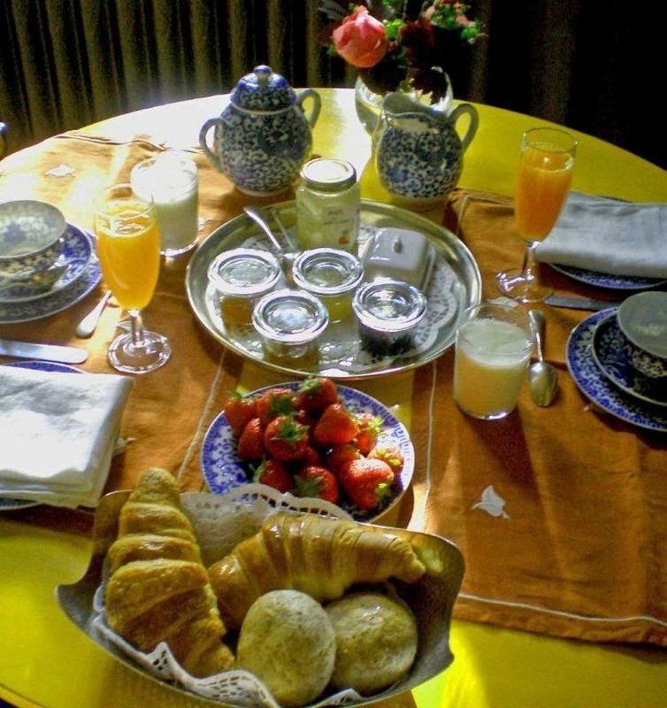 La Villa Maison d'hôte de charme à Bruxelles. petit-déjeuner. © photos : la villa 2013