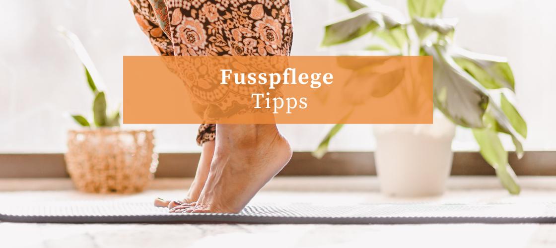 7 Tipps für Ihre Fusspflege