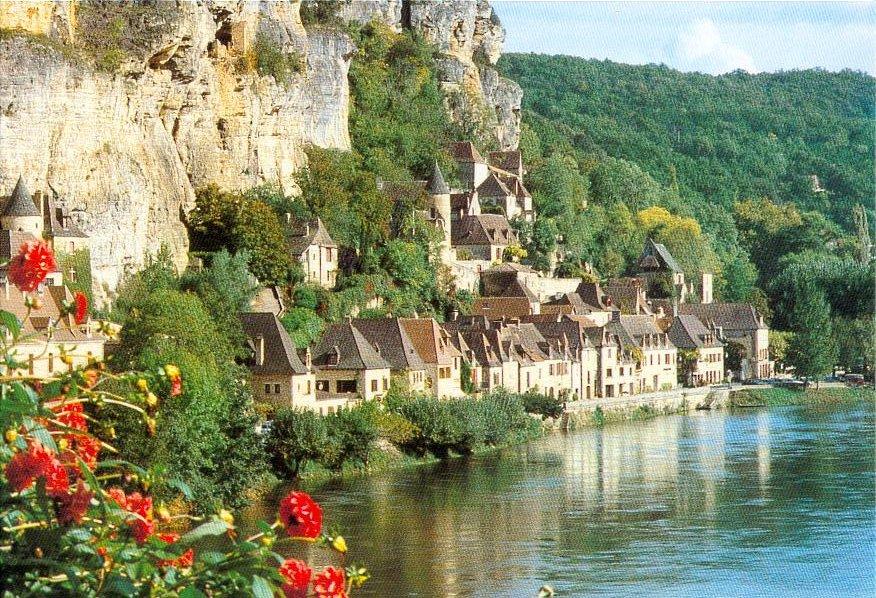 La Roque-Gageac en Dordogne, un des plus beaux villages de France