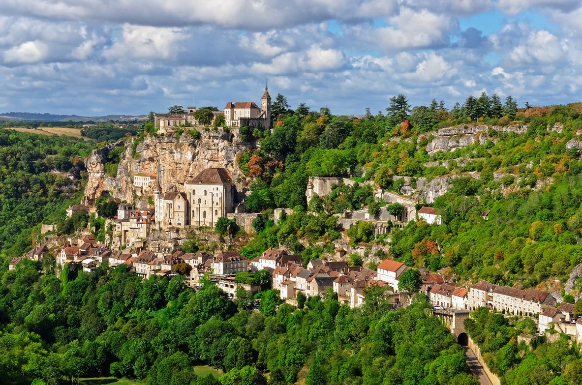 Rocamadour, cité médiévale dans le Lot