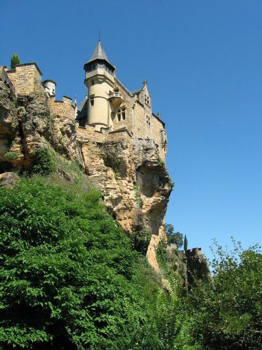 Château de Belcastel à Lacave (Lot)