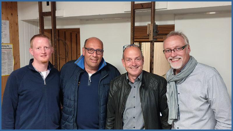 Carsten Meier, Ralph Nüter, Jens Grünert, Klaus-Werner Schäfer