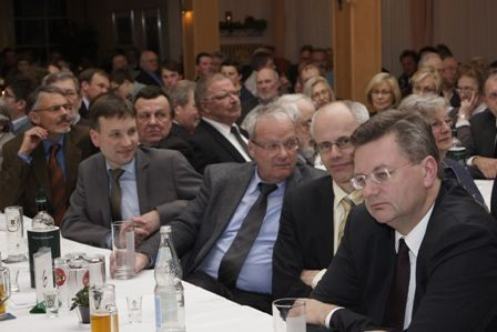 Dr. Lühring, Brgm. Gummich, Landrat Luttmann,  MdB Grindel