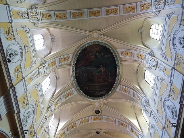 Plafond de l'église Saint Denis
