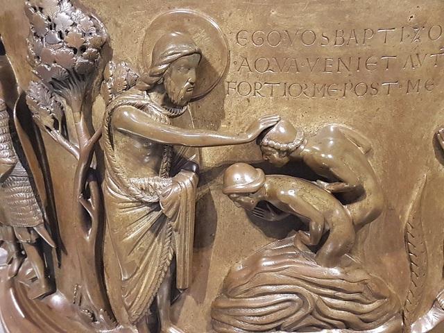 Les fonts baptismaux