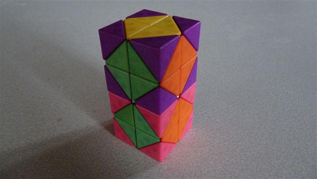 magnetisches Modell des 4D Rubik 2x2x2x2