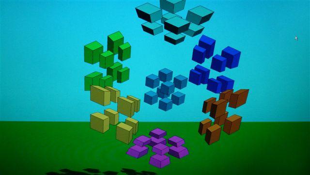 Virtueller 4D Rubik 2x2x2x2