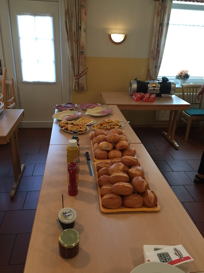 Frühstück ist fertig!!!!