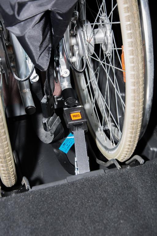 Rollstuhlhaltesystem.