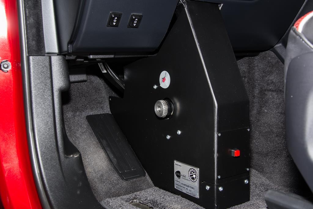 Fußlenkung und Pedalanpassung Ramge Rover