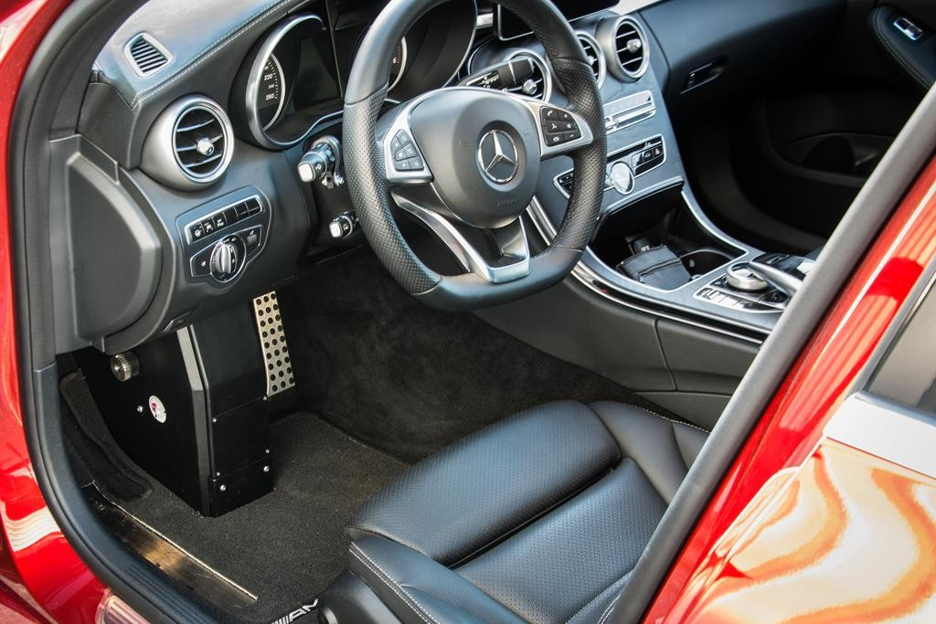 Auch in dieser Mercedes C-Klasse T-Modell kommt das System Franz zum Einsatz.