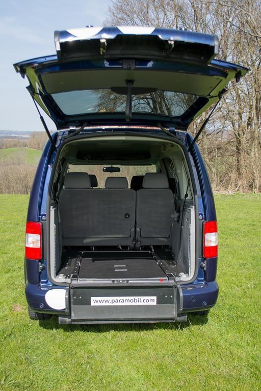 Absenker Volkswagen Caddy.
