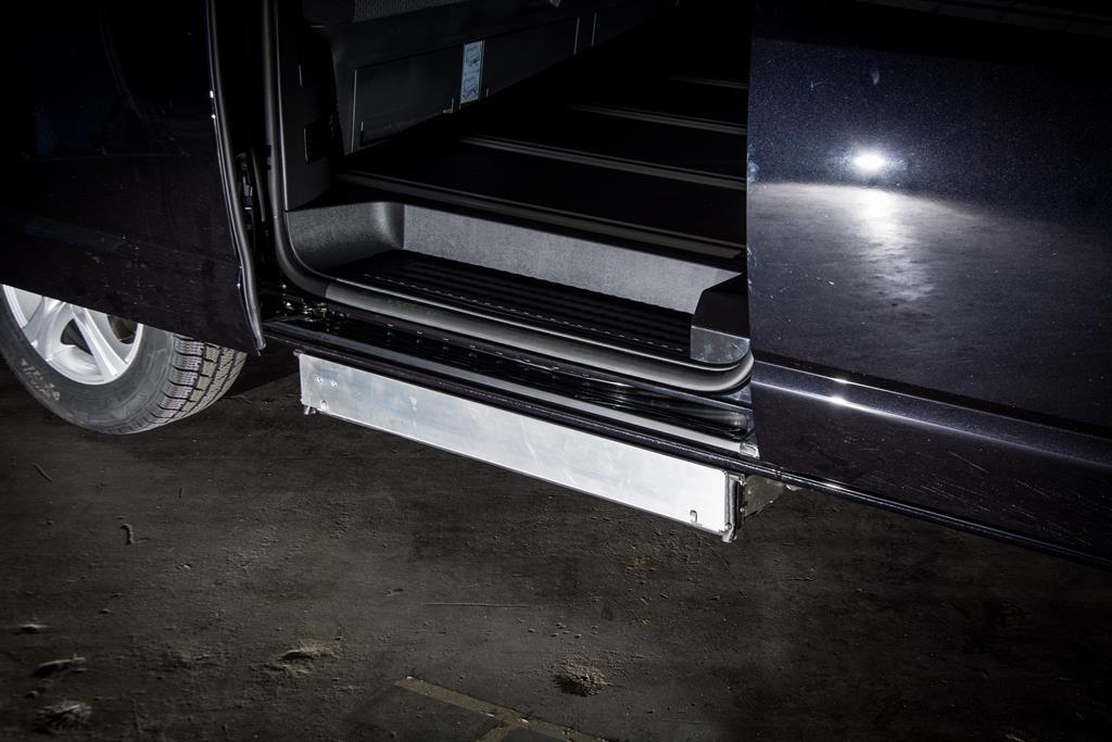 Kassettenlift im Volkswagen Multivan T6.
