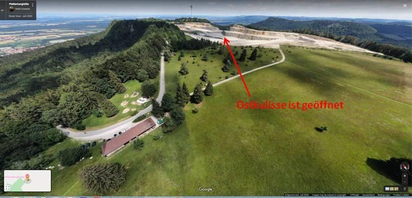 Plettenberg-Hochfläche mit Öffnung der Ostkulisse