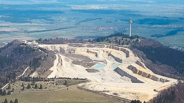 174 Einwendungen sind gegen die Erweiterung des Plettenberg-Steinbruchs eingegangen. Foto: Archiv Foto: Schwarzwälder Bote