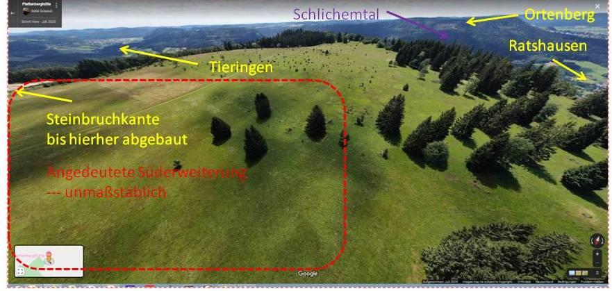 Plettenberg-Hochfläche zur Orientierung