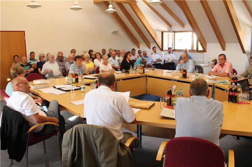 Die konstituierende Sitzung des Dotternhausener Gemeinderats wird in die örtliche Geschichte eingehen. Von möglicher künftiger Eintracht war, abgesehen vom Gruppenbild des neuen Gremiums, so gut wie nichts zu spüren.