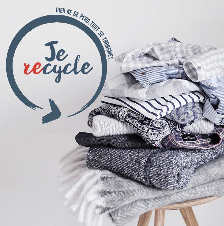 Donnons une seconde vie à nos vêtements, objets triés durant l'été ...