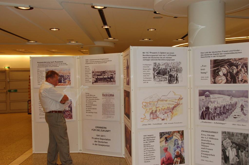 Ausstellung über Russlanddeutsche