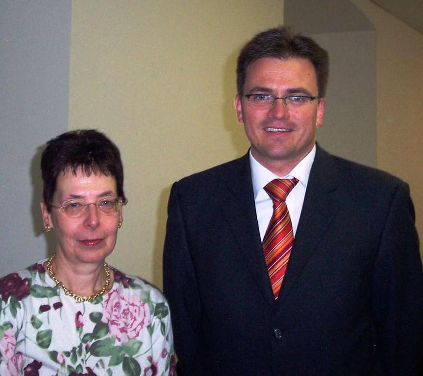 Dr. Joachim Bläse und Frau Monika Boosen, stellvertr. Leiterin des Museums im Prediger