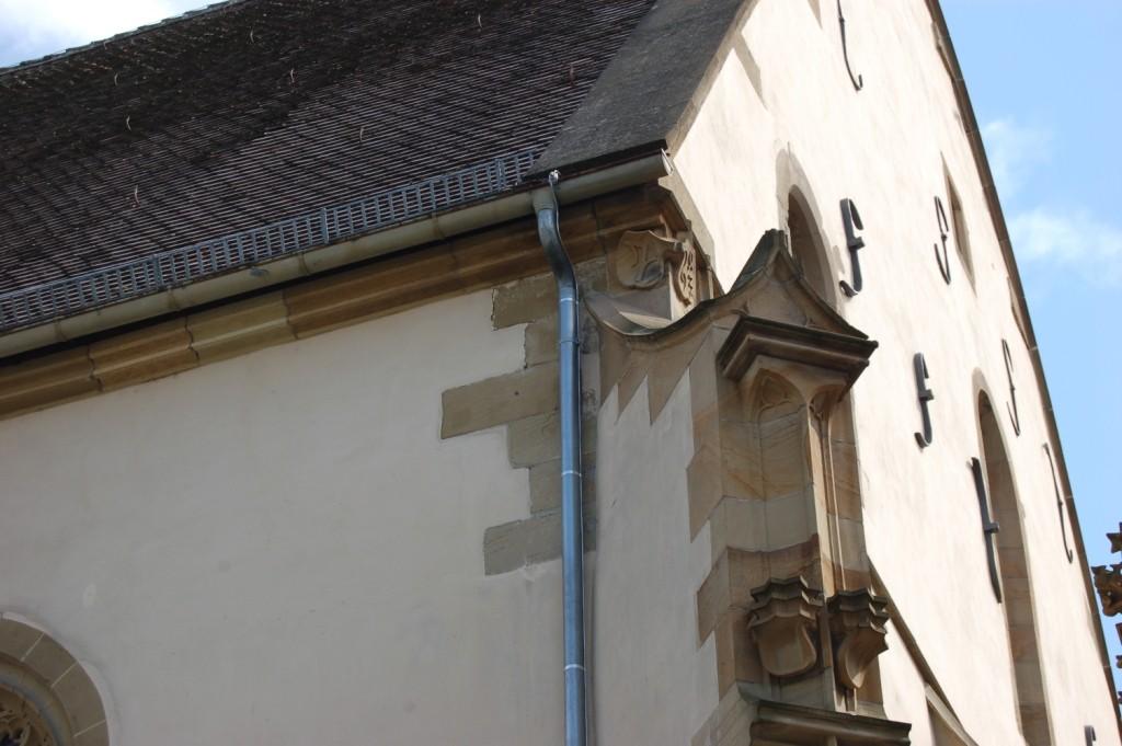 Pilgrams Steinmetzzeichen in Bad Wimpfen ?