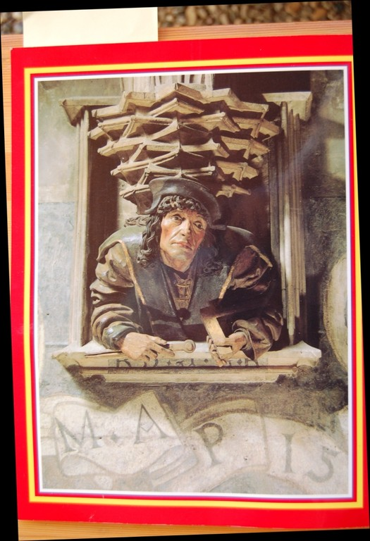 Der Fenstergucker - das Antlitz Anton Pilgrams im Stephansdom in Wien ?