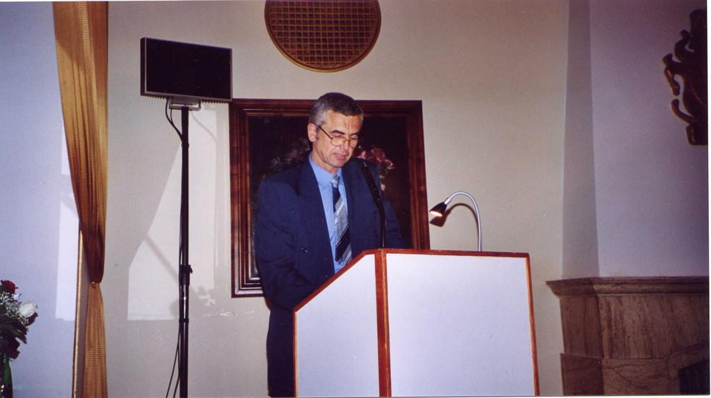 Dipl._Ing. Jaroslav Klenovsky berichtet über den Beitrag der jüdischen Gemeinde zur Stadtentwicklung Brünns