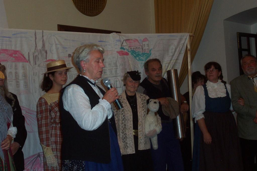 Der DSKV spielt Geschichten aus dem alten Brünn
