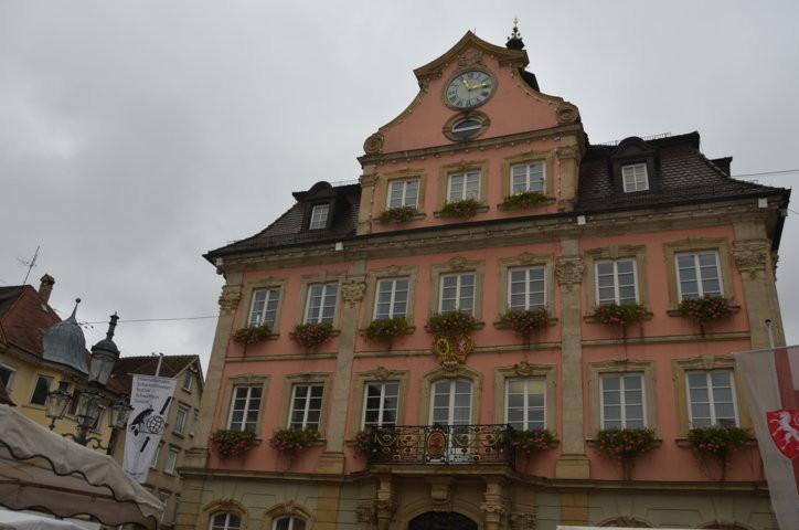 Rathaus Schwäbisch Gmünd erwartet den Besuch des Brünner Primators