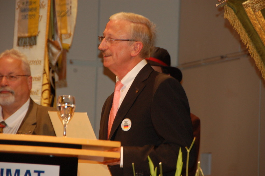 Ministerialdirigent Heribert Hellstern
