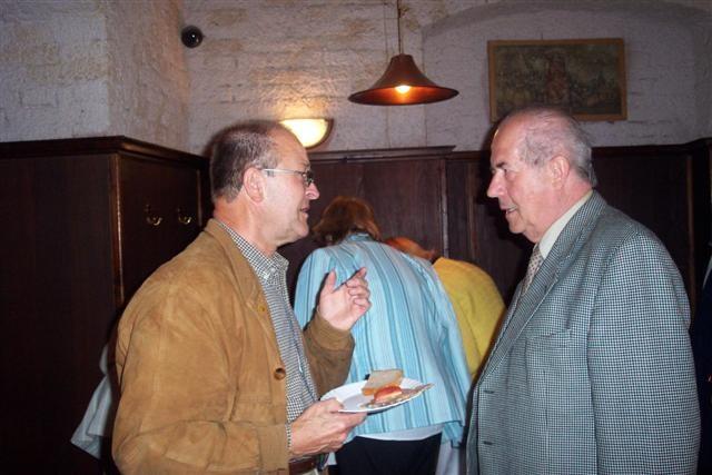 Dr. Bachstein und Karl Walter Ziegler