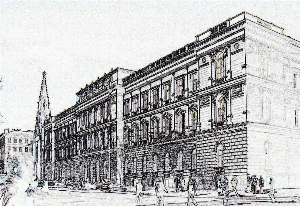"""Das Mährische Landeshaus in Brünn, Stätte der Unterzeichnung des """"Mährischen Ausgleichs"""" 1905"""