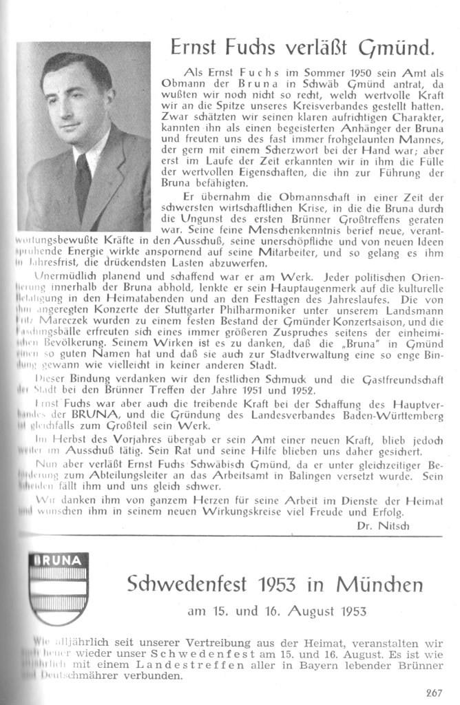 1953 Schwedenfest München