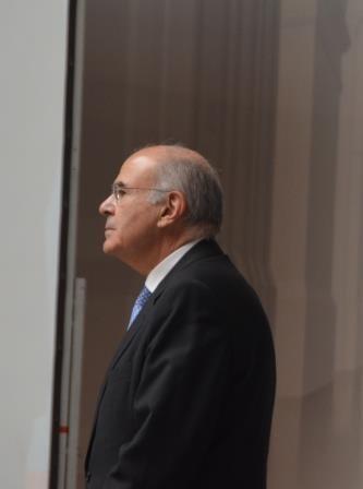 Professor Dr. Vassilios Skouris, Präsident des Gerichtshofs der Europäischen Union