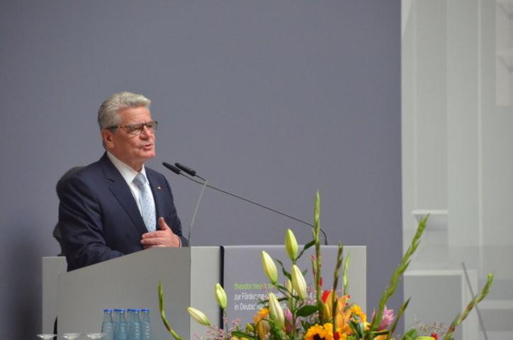 Der Bundespräsident Joachim Gauck