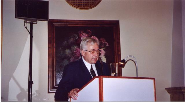 Dr. Amadeus Sobotka berichtet über den Beitrag der tschechischen Ärzte zur Entwicklung des Stadtlebens in Brünn um die Jahrhundertwende