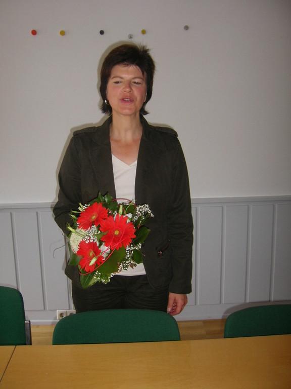 Frau Karin Schüttler, Leiterin des Schulamtes in Schwäbisch Gmünd