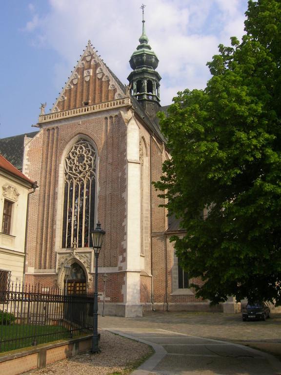 Kirche Maria Himmelfahrt in Brünn  Wirkungskreis von Gregor Mendel