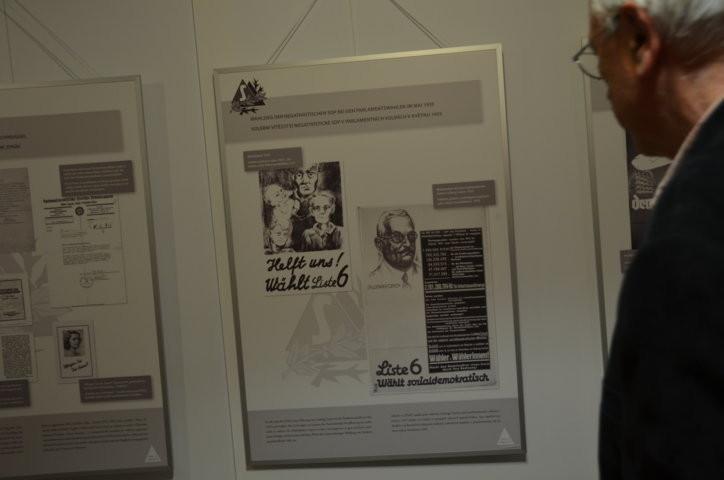 Gedenktafel an Dr. Ludwig Czech aus Brünn