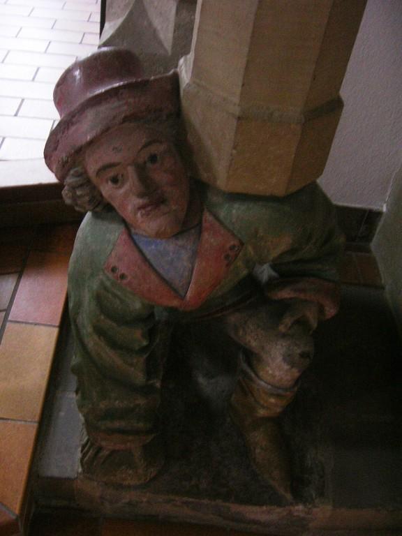 Kanzelmännchen Heutingsheim - Das Antlitz Anton Pilgrams?