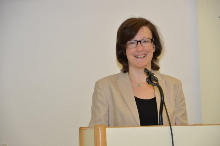 Frau Dr. Christine Absmeier. Leiterin des Hauses der Heimat Baden-Württemberg
