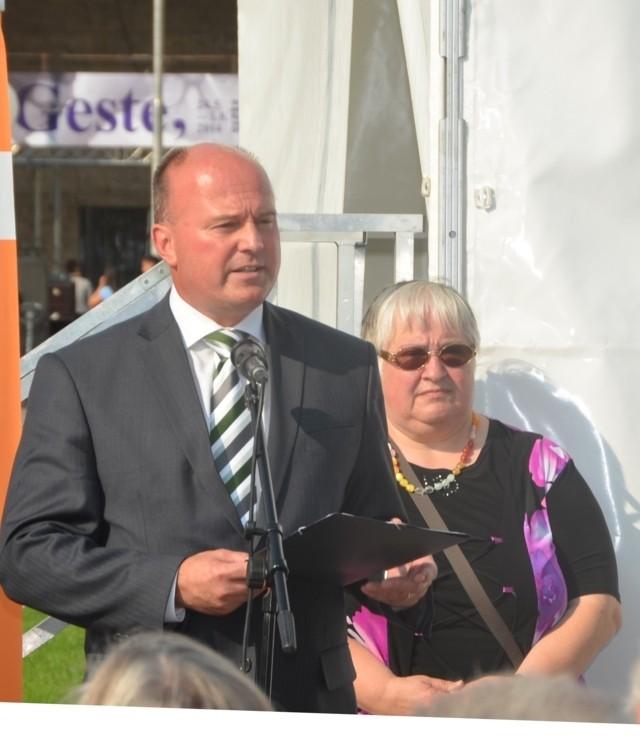 Herr Hartmut Koschyk und Frau Waltraud Illner